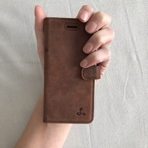 {Snakehive} Leather phone case, iPhone 7 iPhone 8